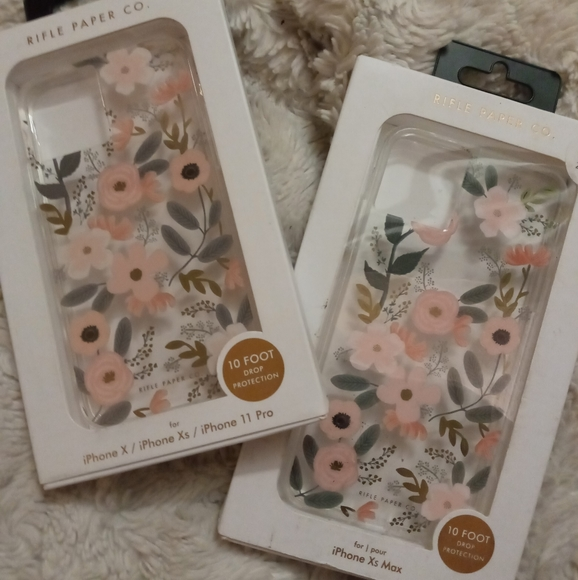 •RPC• 2 iPhone X, XS, XS Max, 11 Pro• floral cases